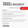 Bitdefender MOBILE SECURITY 2018 4