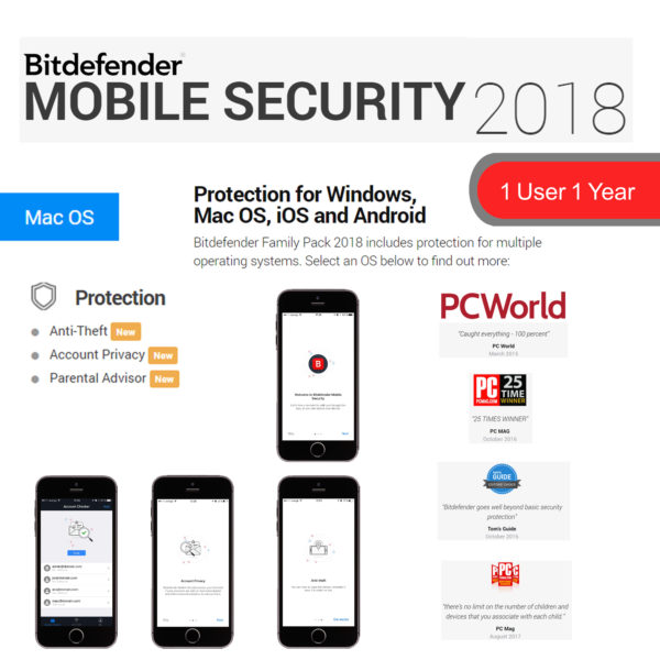 Bitdefender MOBILE SECURITY 2018 8