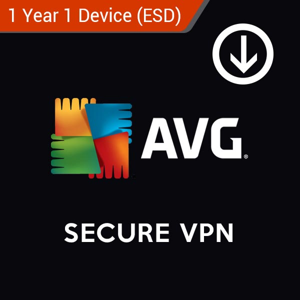 AVG Secure VPN 1 Year 1 Device